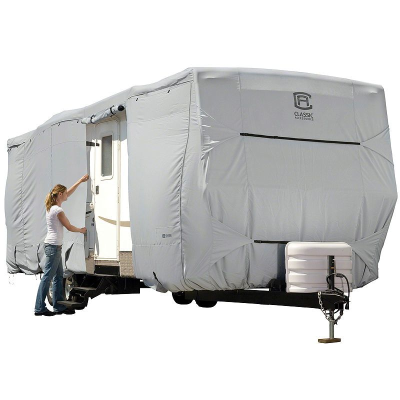 Classic Accessories OverDrive PermaPRO Deluxe Travel Trailer Cover