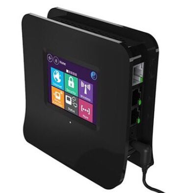 Securifi Almond Touchscreen WiFi Wireless Router-Range Extender